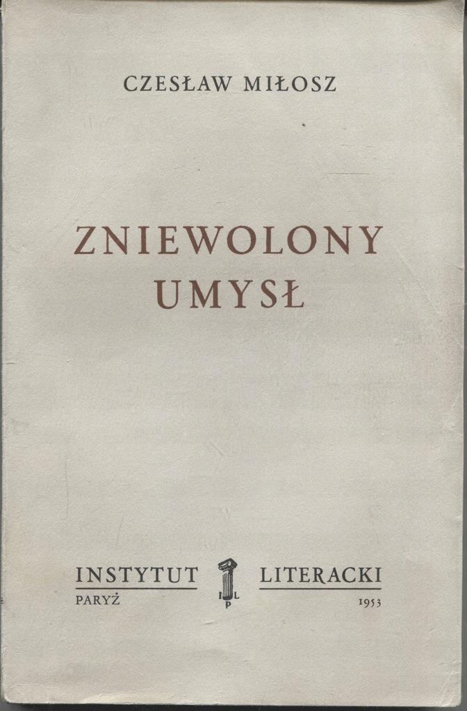 Book Cover: Zniewolony umysł