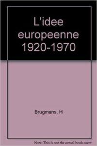 Book Cover: L'idée européenne : 1920-1970