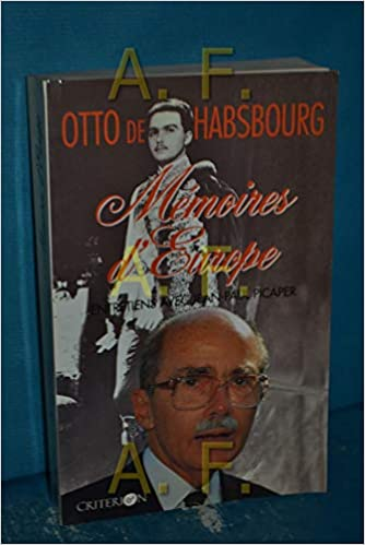 Book Cover: Mémoires d'Europe